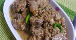 খাসির বাদামি কোরমা