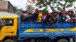 উচ্চশব্দে হিন্দি গান বাজিয়ে পিকআপে মহড়া অতঃপর জরিমানা