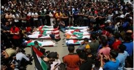 গাজায় ইসরায়েলি বাহিনীর হামলায় একই পরিবারের ৮ শিশু ও ২ নারী নিহত